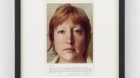 Exposition Martha Wilson à Halifax Pompidou 1973_Redhead_14.75 x 12 inches