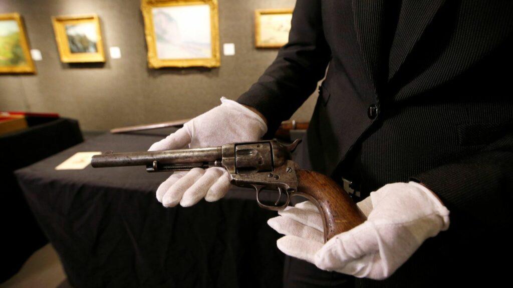 Colt calibre .44 à barillet