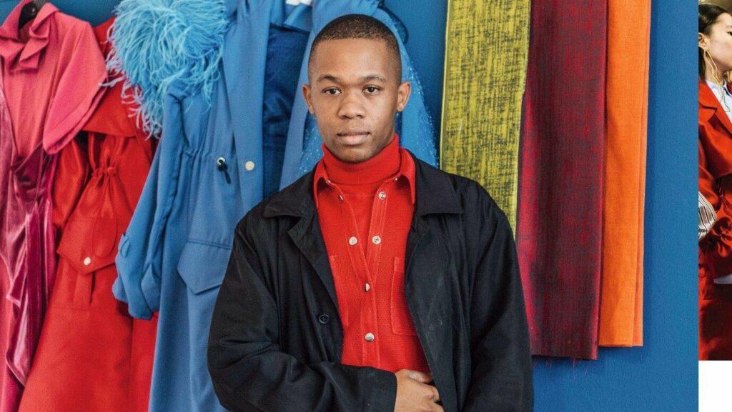 Portrait de Thebe Magugu