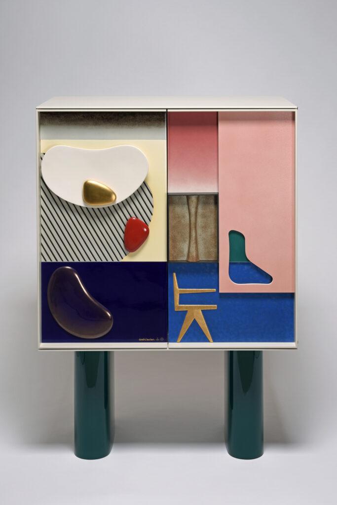 Cabinet Chandigarh, Doshi & Levien, meuble contemporain