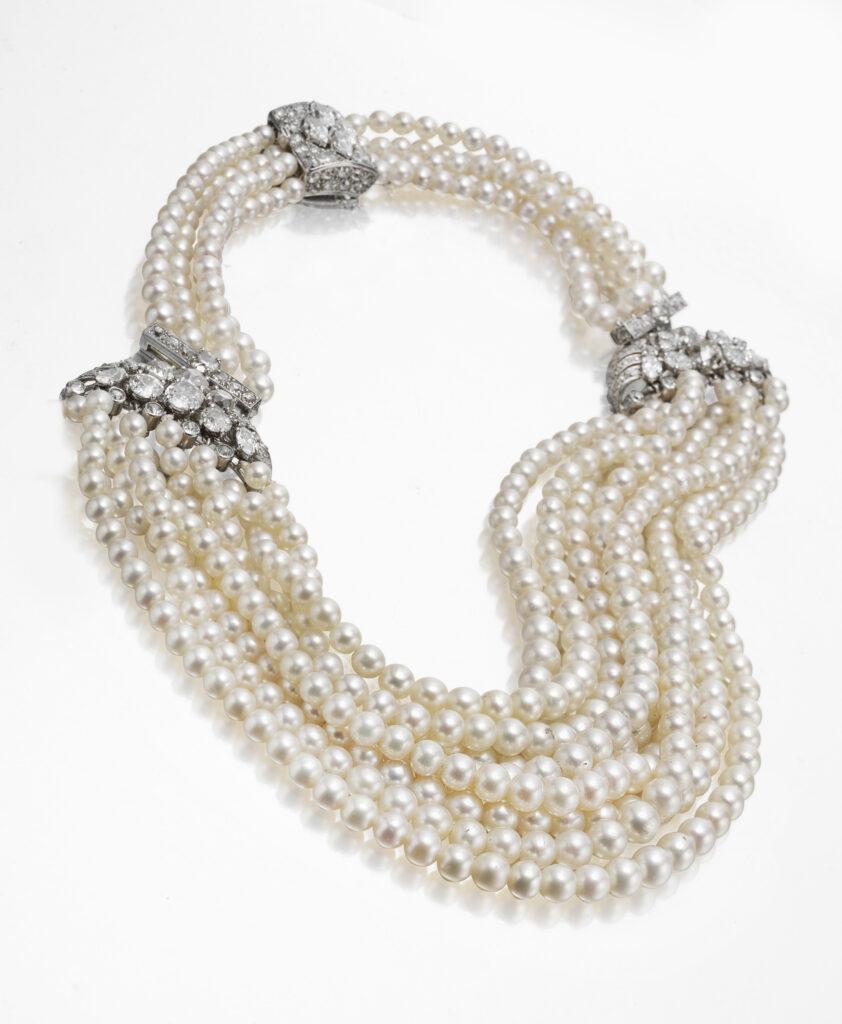 Collier de perles, Cartier