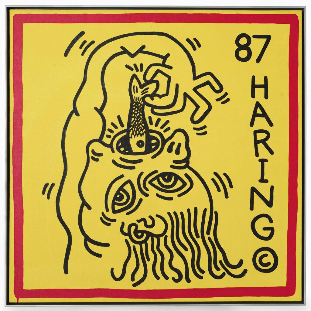 Keith Haring, Untitled, Knokke 3