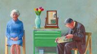 David Hockney, My Parents, T03255