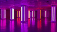 Détour, installation de Visual System à la Gaîté Lyrique (2021). © Vinciane Lebrun / Voyez-Vous