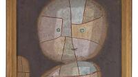 Exposition Entre deux mondes Paul Klee au LAM Lille - Klee, Büste eines Kindes, 1933. Zentrum Paul Klee, Berne