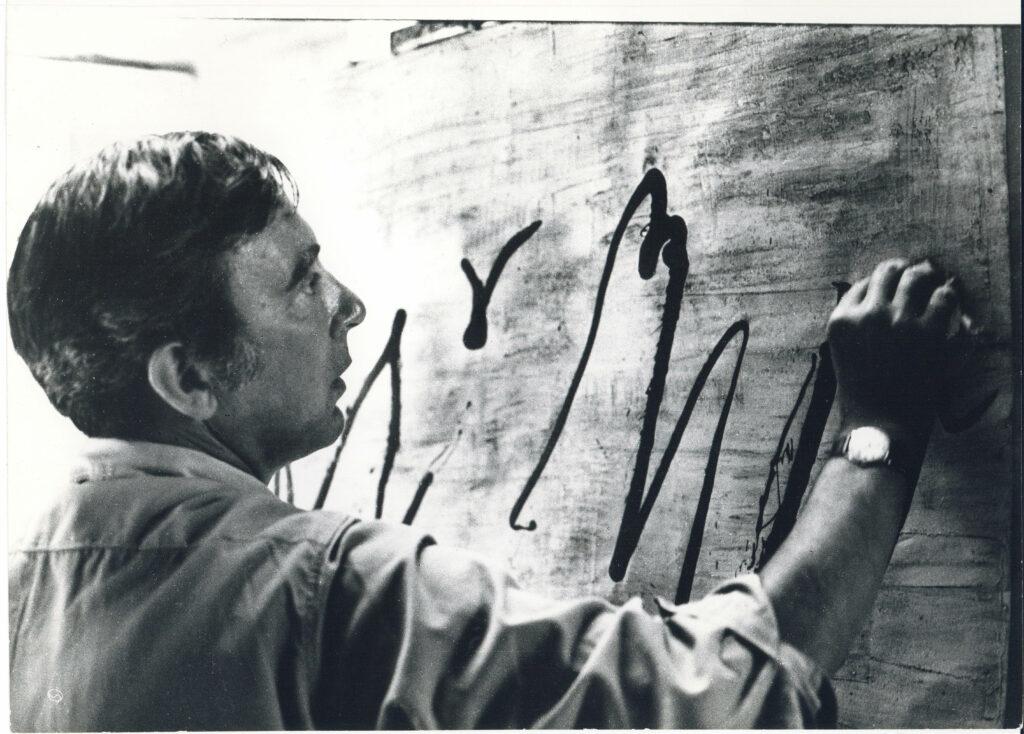 Jean Cortot au travail, 1967-1968