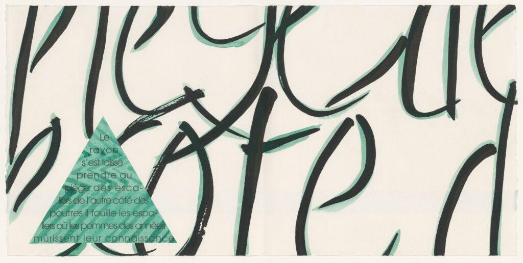 Le diamant du grenier, Michel Butor. Eaux-fortes gravées sur cuivre et aquarelles de Jean Cortot. Clichy-sur-Seine, Rémy Maure Éditeur, 1997.Paris, BnF, Réserve des livres rares. Jean Cortot