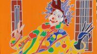 exposition-le monde du spectacle - atelier lepic - la clown de maastrisch - henri landier, 2020